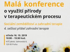 Malá konference o využití přírody v terapeutickém procesu